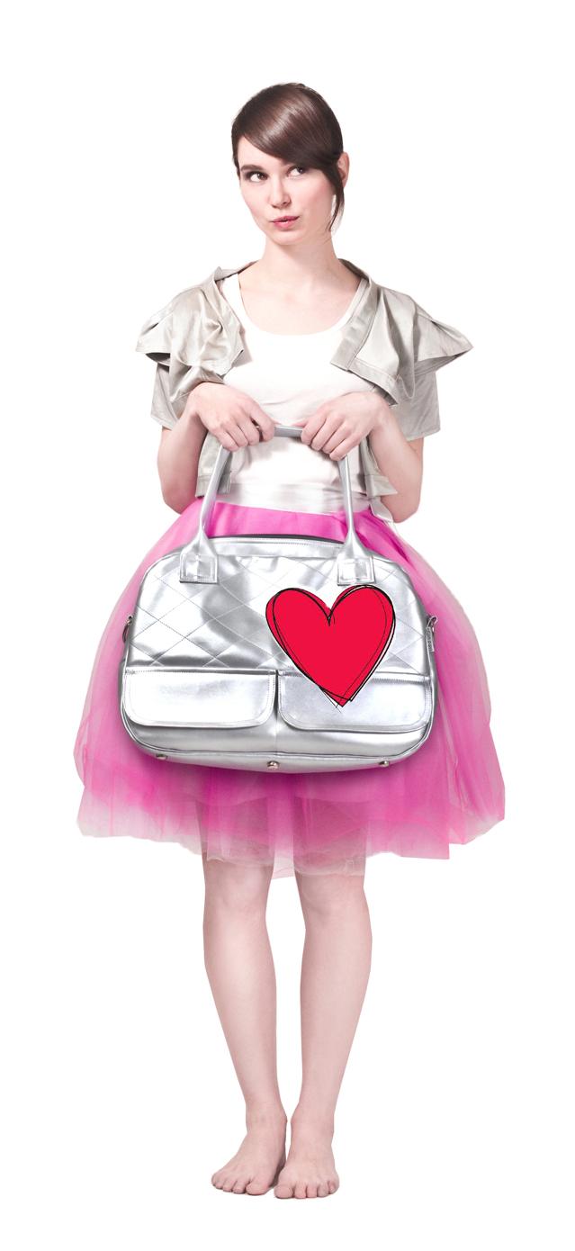 Dara bags - sličná srdce