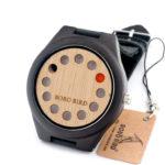 Originální dřevěné hodinky pro páry značky BOBO BIRD
