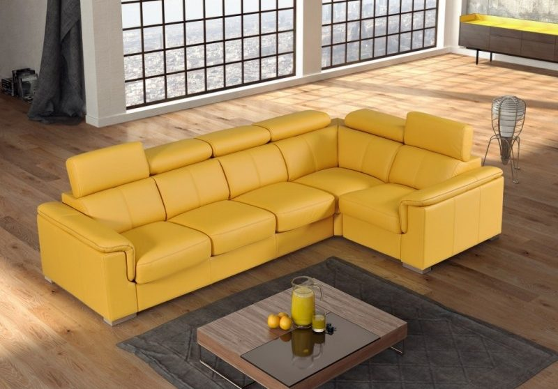 luxusní kožená sedací souprava GOBI